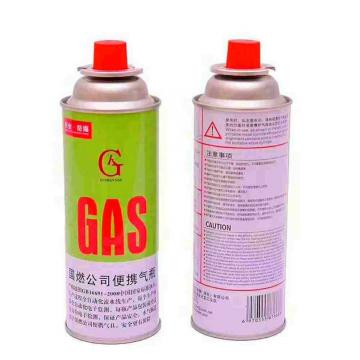 Liquefied Butane Gas for Cooking Cassette Stove Portable lighter gas refill 250ml