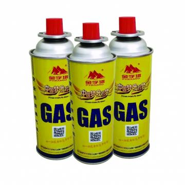 190gr for camping stove Portable free-standing camping 220g butane gas cartridge