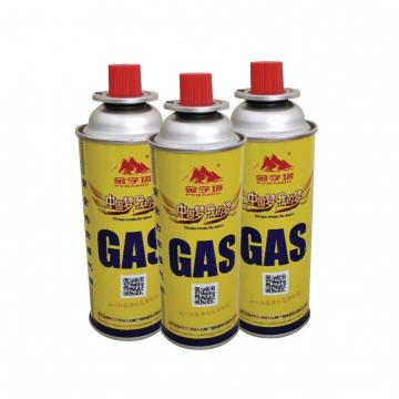 Wholesale Butane Refill Fuel Gas Can Cartridge Camping Portable Stove can cylinder, 220g