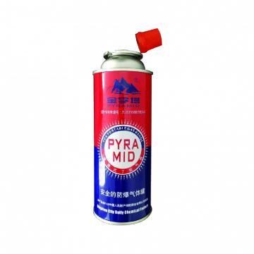 Cylinder for camping stove Butane gas cartridge 220g and butane gas fuel