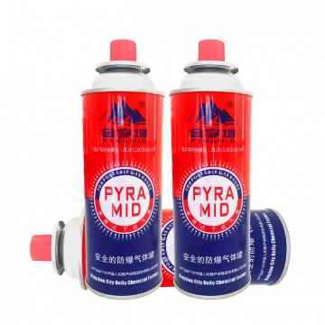 Camping Round Shape Manufacturing best high quality butane gas cartridge canister