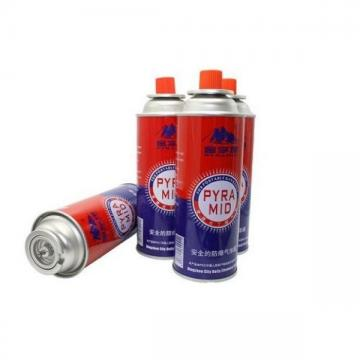 Empty butane gas cartridge and camping gas butane canister refill refined portable